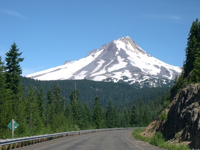 Mt. Hood from NFD 48, approaching Barlow Pass